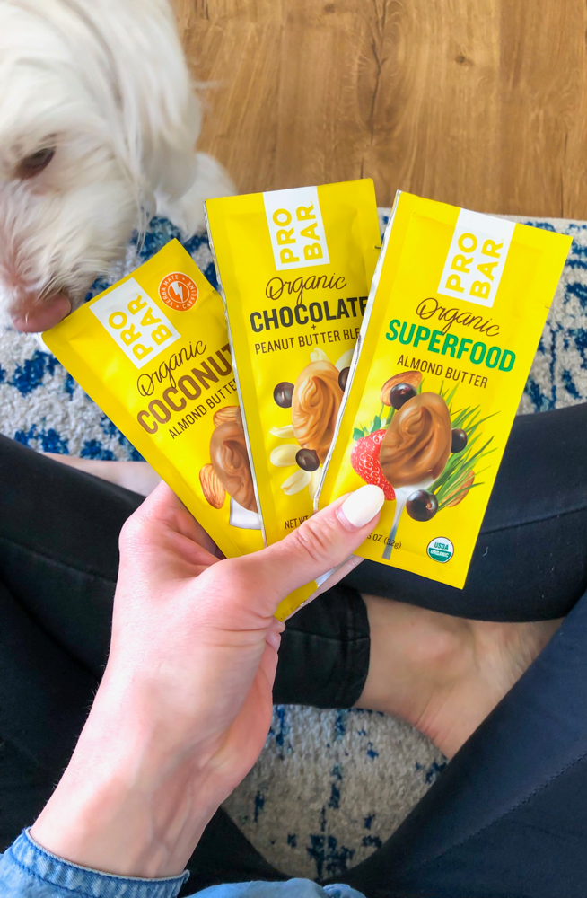 ProBar nut butter packs by A Lady Goes West - May 2019