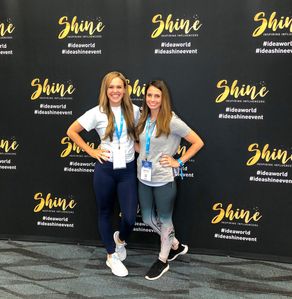 Ashley and Heather at Shine IDEA by A Lady Goes West - June 2019