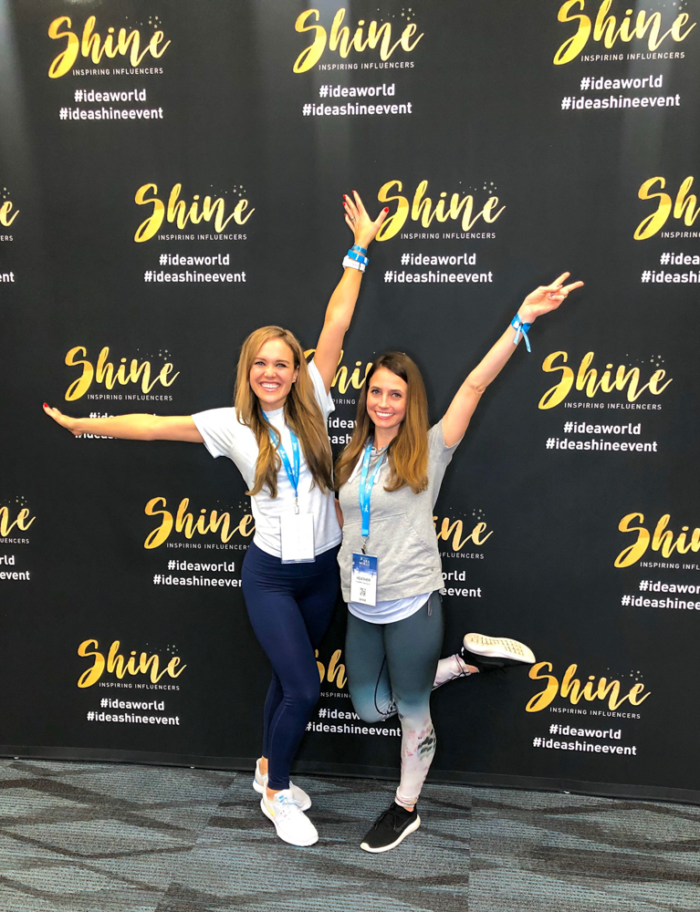 Ashley and Heather at Shine by A Lady Goes West - June 2019