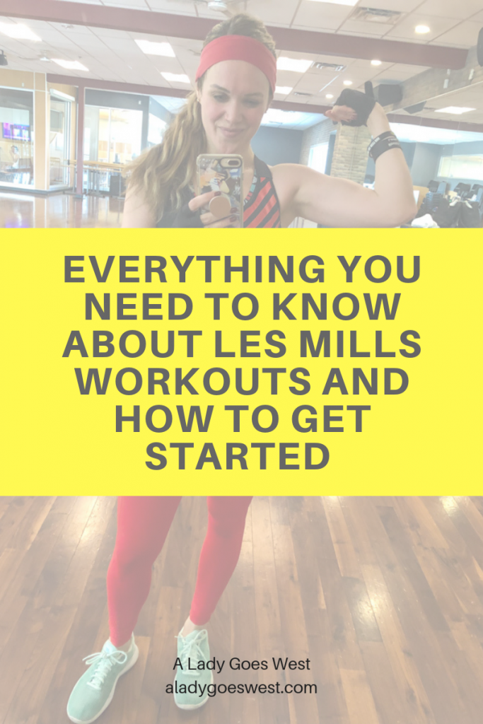 Everything you need to know about Les Mills workouts and how to get started by A Lady Goes West