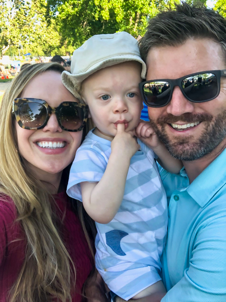 Fam at the wine festival in Heather Farm Park by A Lady Goes West - June 2019