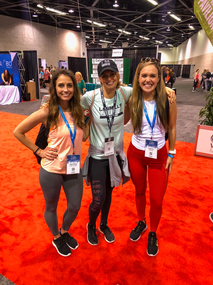 Friends at the expo at Anaheim Convention Center by A Lady Goes West - June 2019