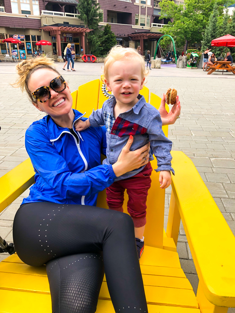 Ashley and Brady at Whistler Village by A Lady Goes West - July 2019