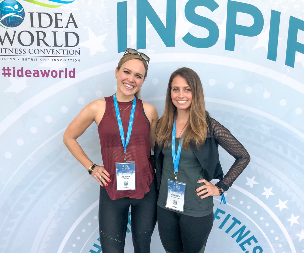 Ashley and Heather at IDEA by A Lady Goes West - June 2019
