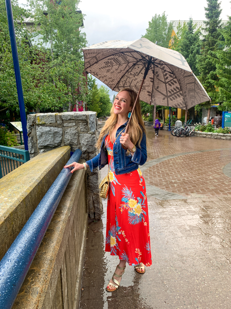 Ashley at Whistler Village by A Lady Goes West - July 2019