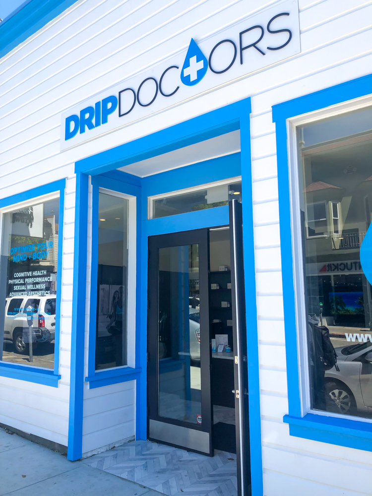 Drip Doctors in SF Marina A Lady Goes West - July 2019
