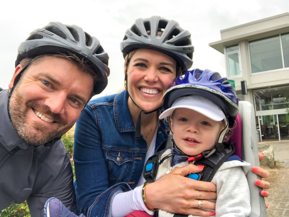 Family bike trip around Stanley Park by A Lady Goes West - July 2019