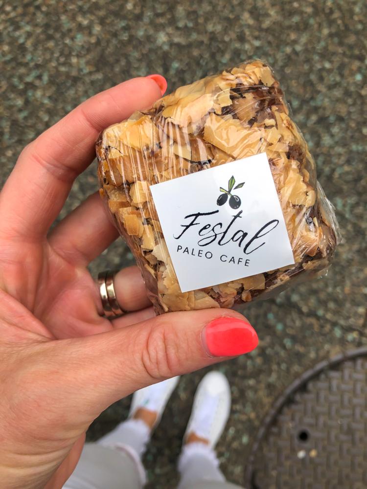 Festal Paleo dessert by A Lady Goes West - July 2019