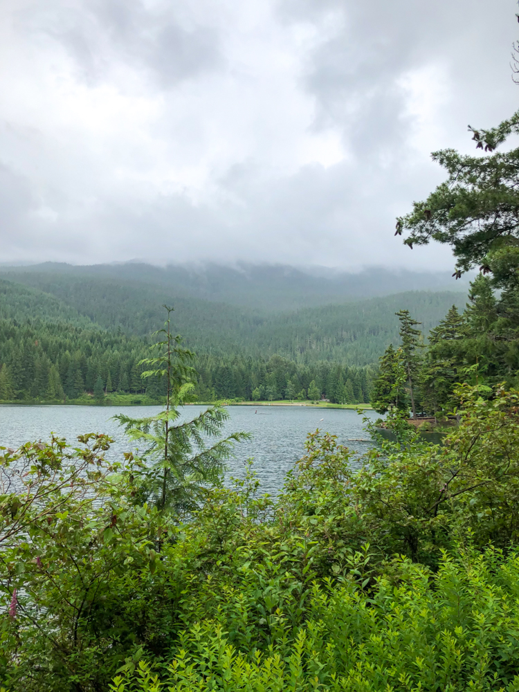 Lost Lake in Whistler by A Lady Goes West - July 2019