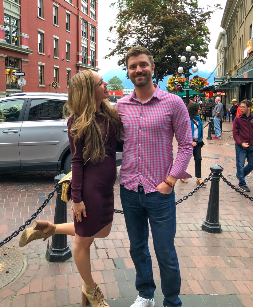 Out to dinner in Gastown by A Lady Goes West - July 2019