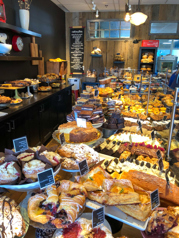 Purebread pastry selection by A Lady Goes West - July 2019