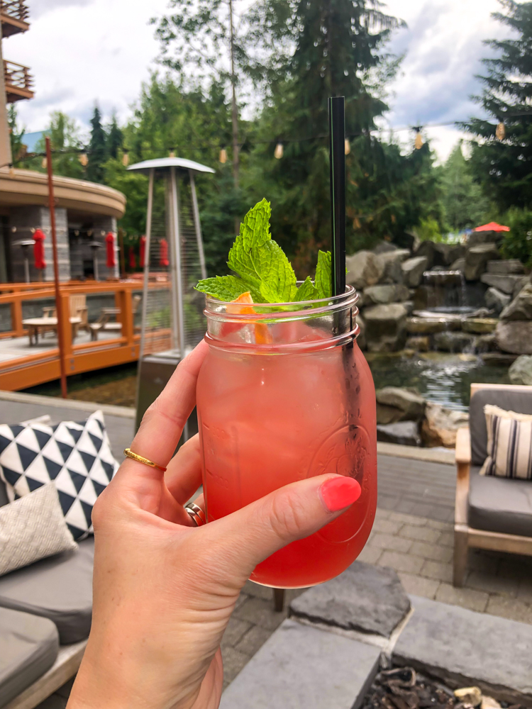 Sangria at Four Seasons Whistler by A Lady Goes West - July 2019