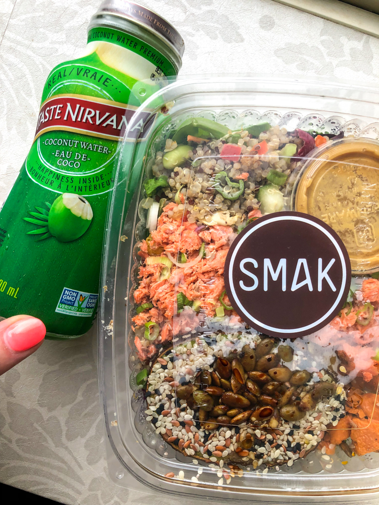 Smak Vancouver lunch by A Lady Goes West - July 2019
