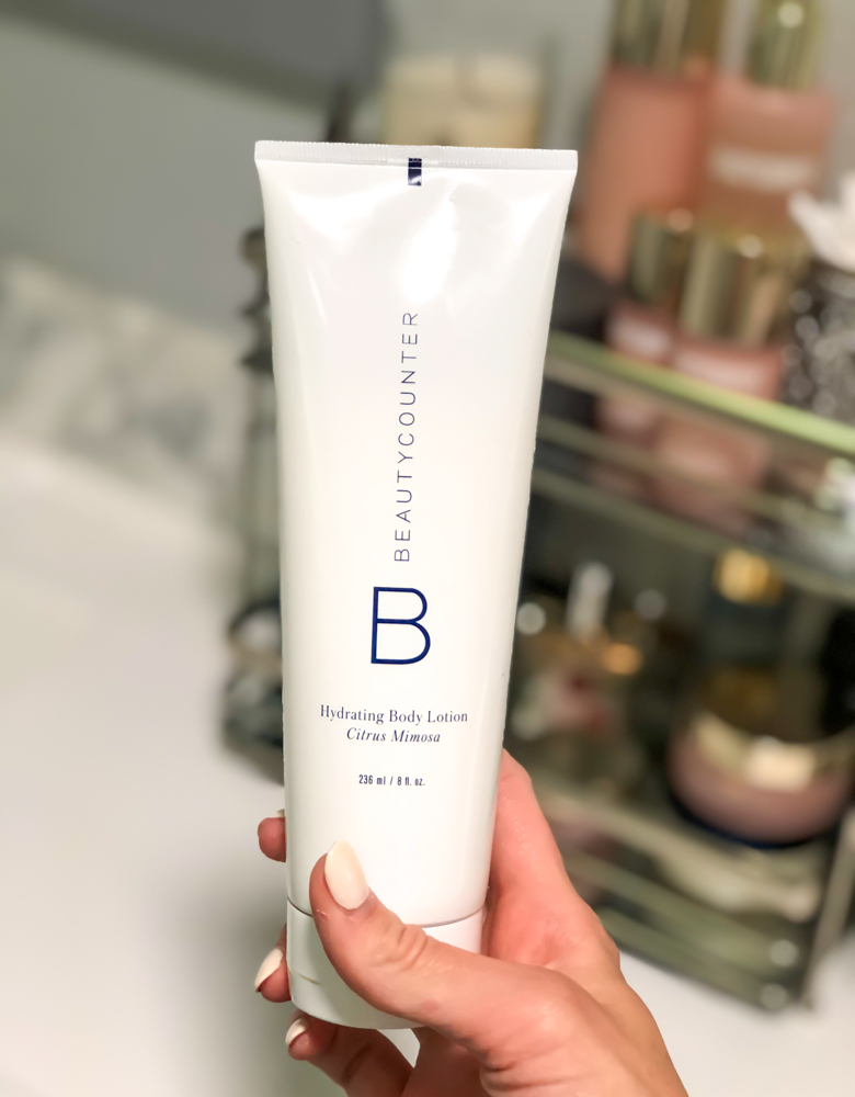 Beautycounter hydrating citrus mimosa lotion by A Lady Goes West -- August 2019