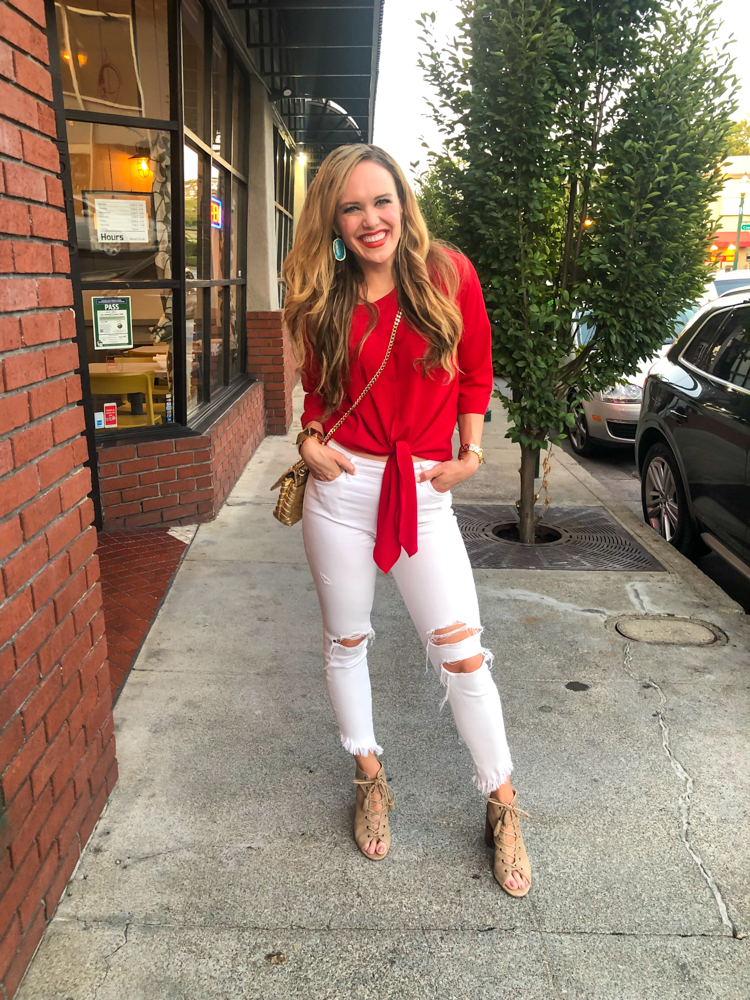Downtown WC pre-dinner date Ashley by A Lady Goes West -- August 2019