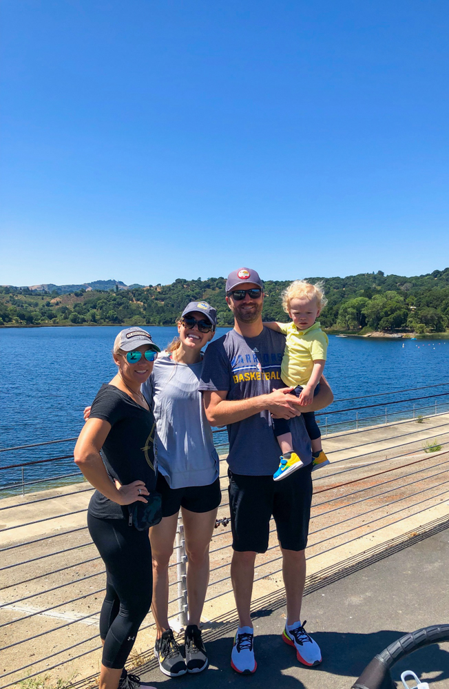 Mooitts at Lafayette Reservoir -- A Lady Goes West - August 2019
