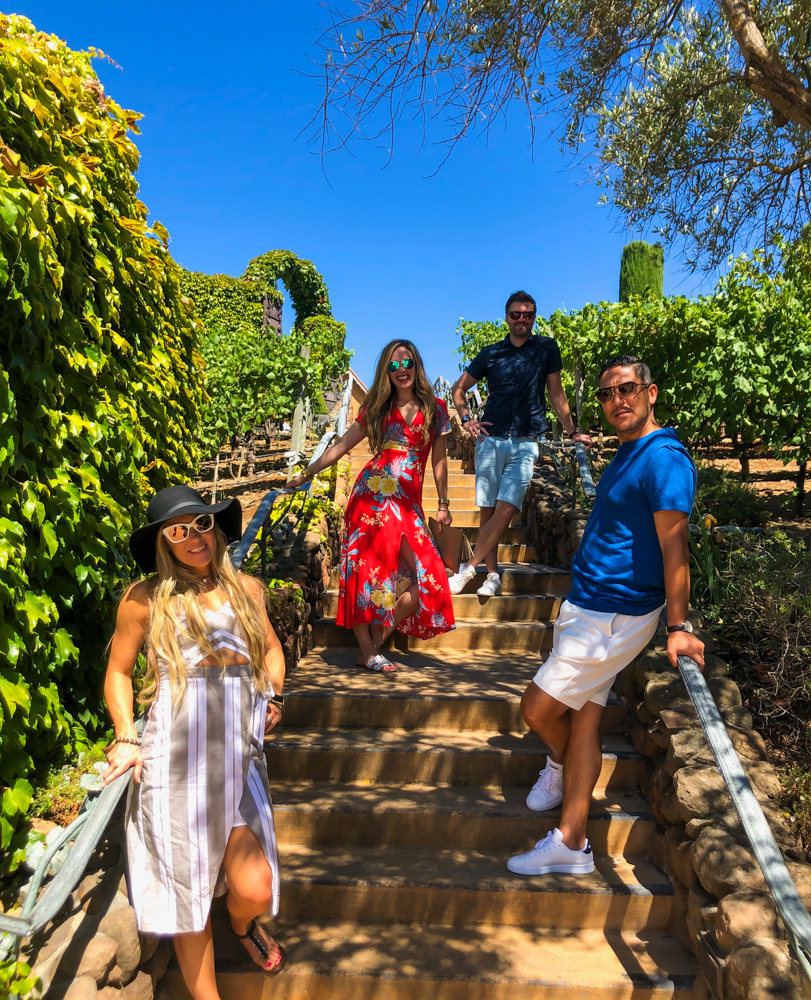 Mooitts at Viansa -- A Lady Goes West - August 2019