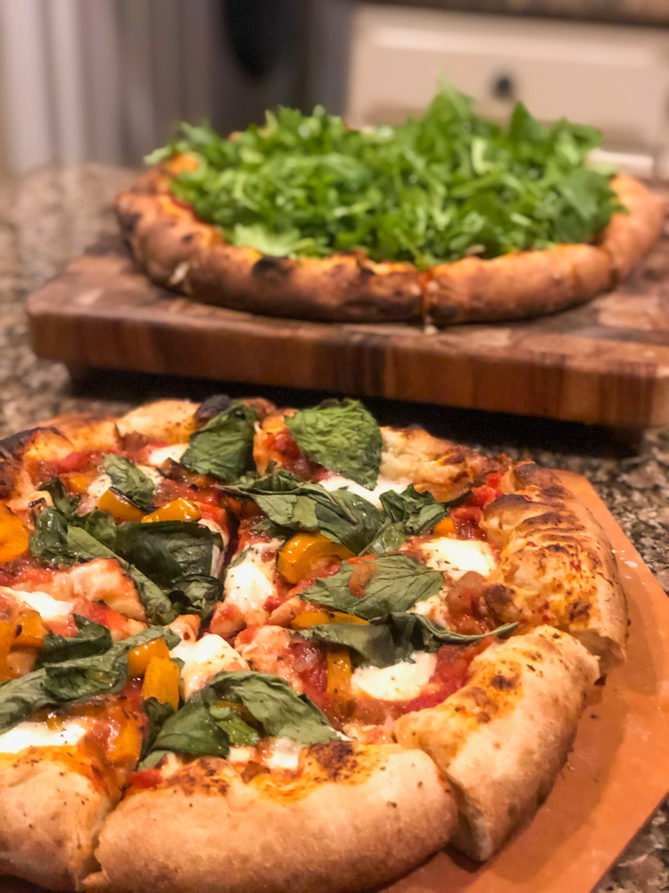 Pizza night -- A Lady Goes West - August 2019
