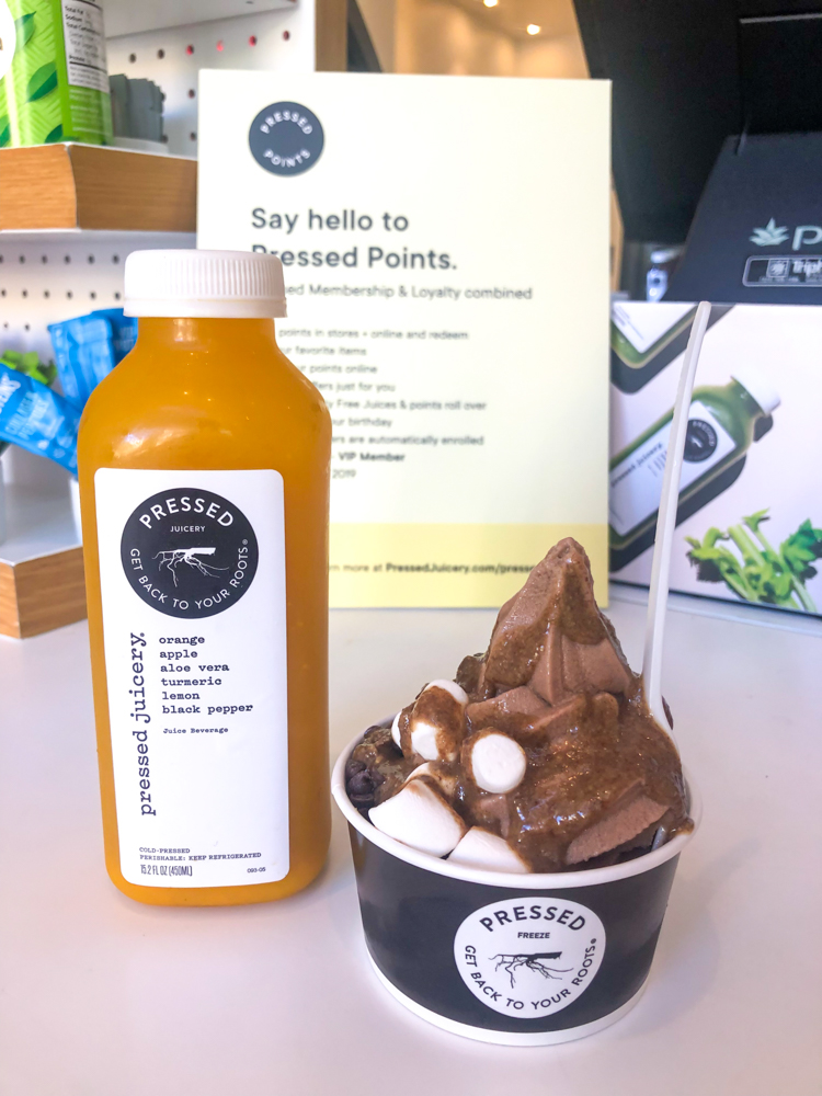 Pressed Juicery treats by A Lady Goes West - August 2019
