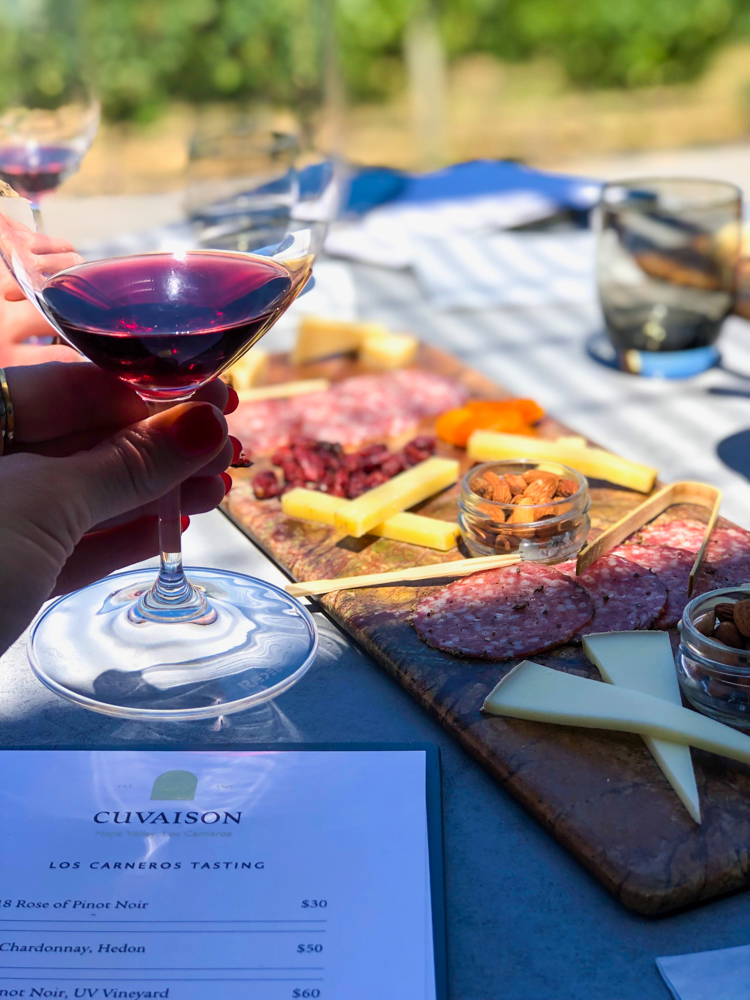 Tasting at Cuvaison -- A Lady Goes West - August 2019