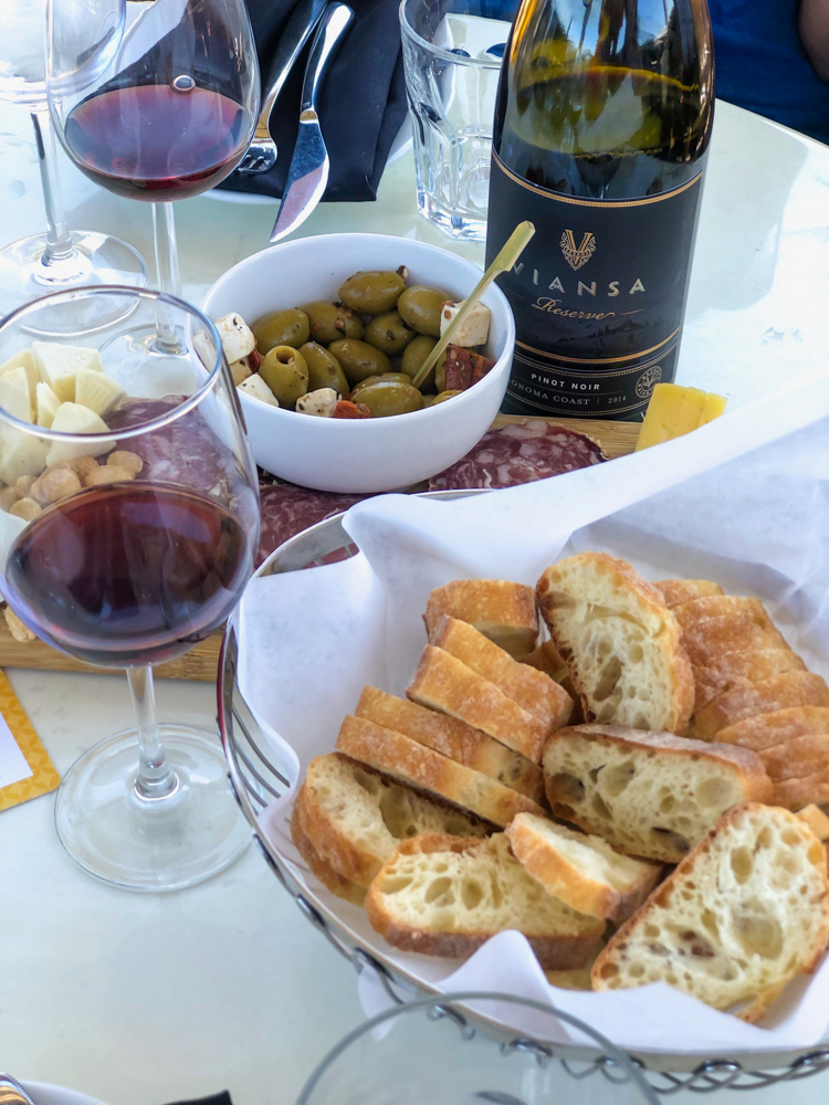 Tasting at Viansa -- A Lady Goes West - August 2019