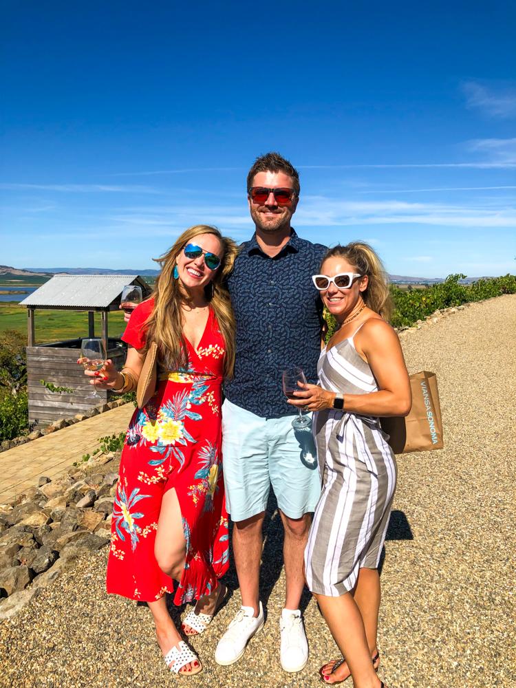 Viansa views -- A Lady Goes West - August 2019
