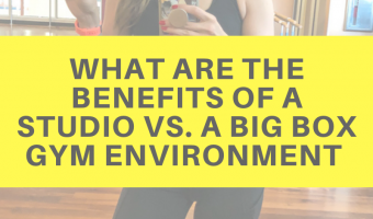 What are the benefits of a studio vs. a big box gym environment by A Lady Goes West