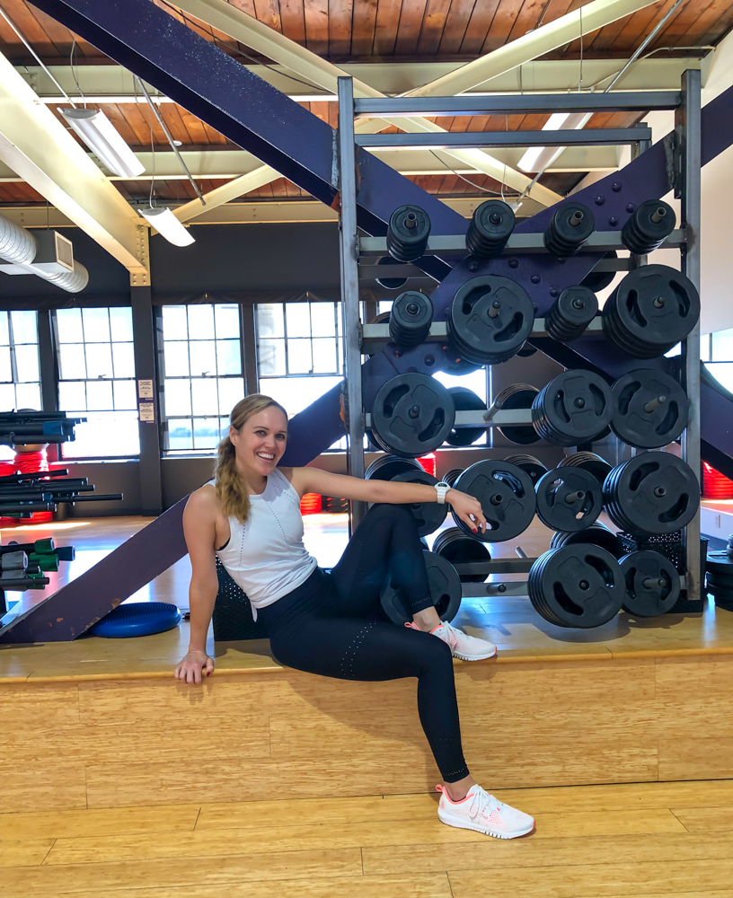 Ashley at Les Mills workshop - by A Lady Goes West -- September 2019