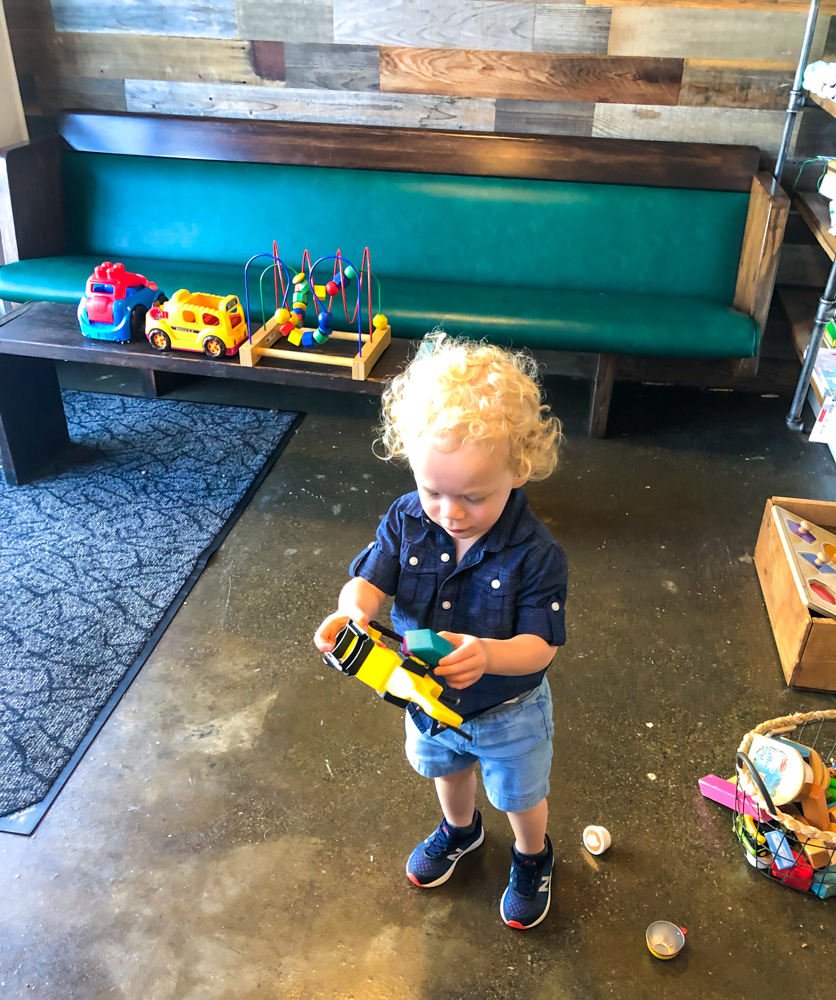 Brady at Rooted - by A Lady Goes West -- September 2019