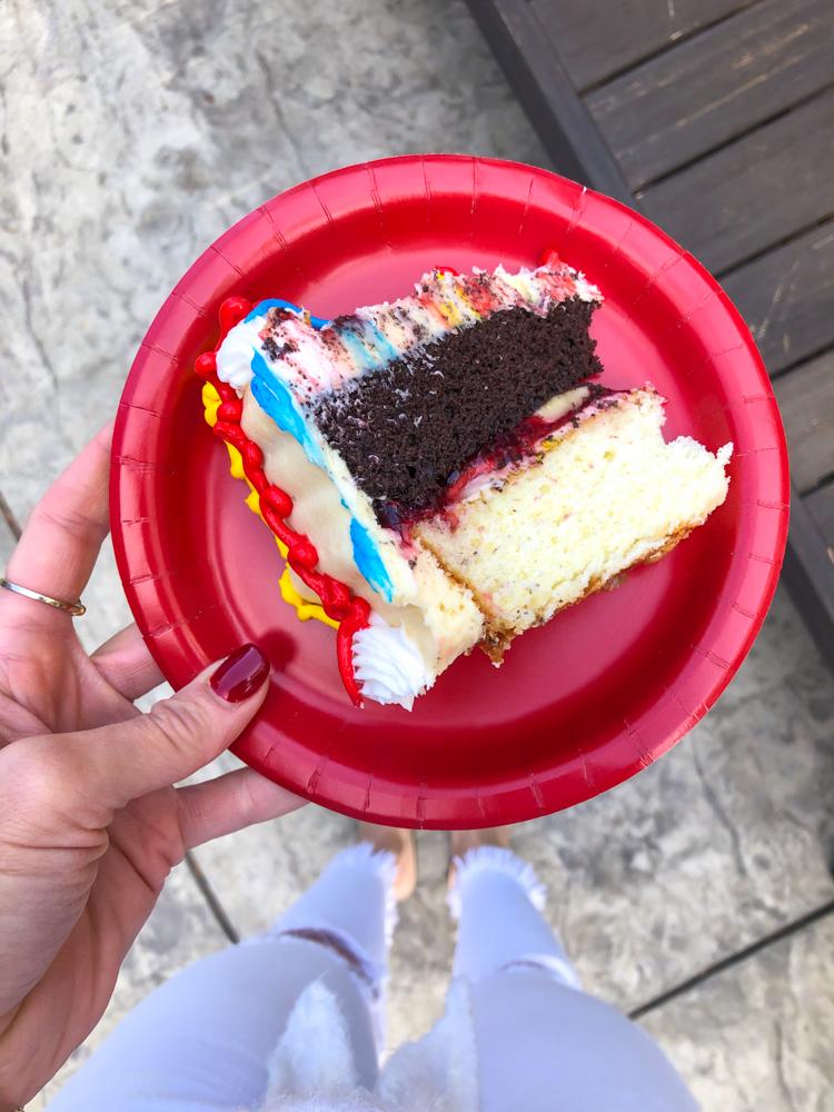 Brady's 2nd birthday cake September 2019 by A Lady Goes West