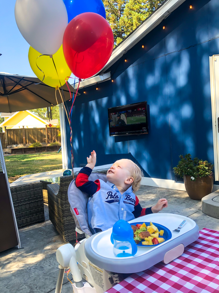 Brady's 2nd birthday party September 2019 by A Lady Goes West