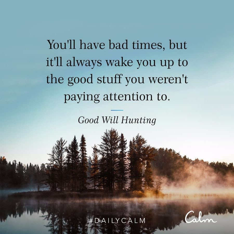 Good Will Hunting Calm quote