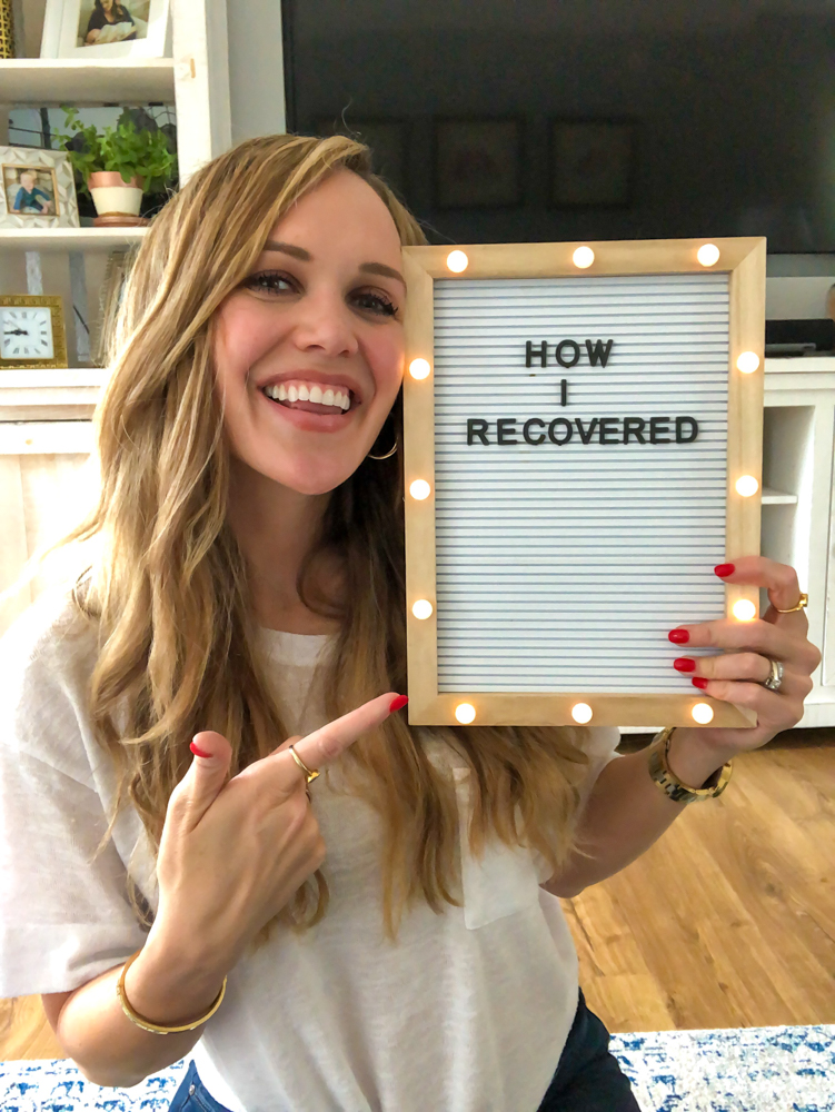 How I Recovered from HA video on IGTV by A Lady Goes West -- September 2019