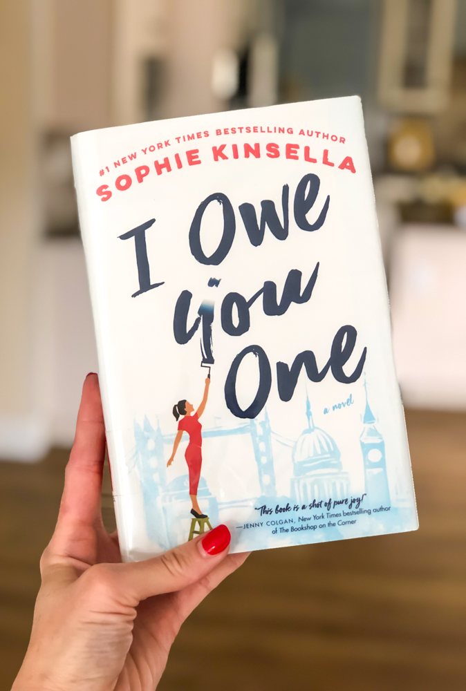 I Owe You One book - by A Lady Goes West -- September 2019