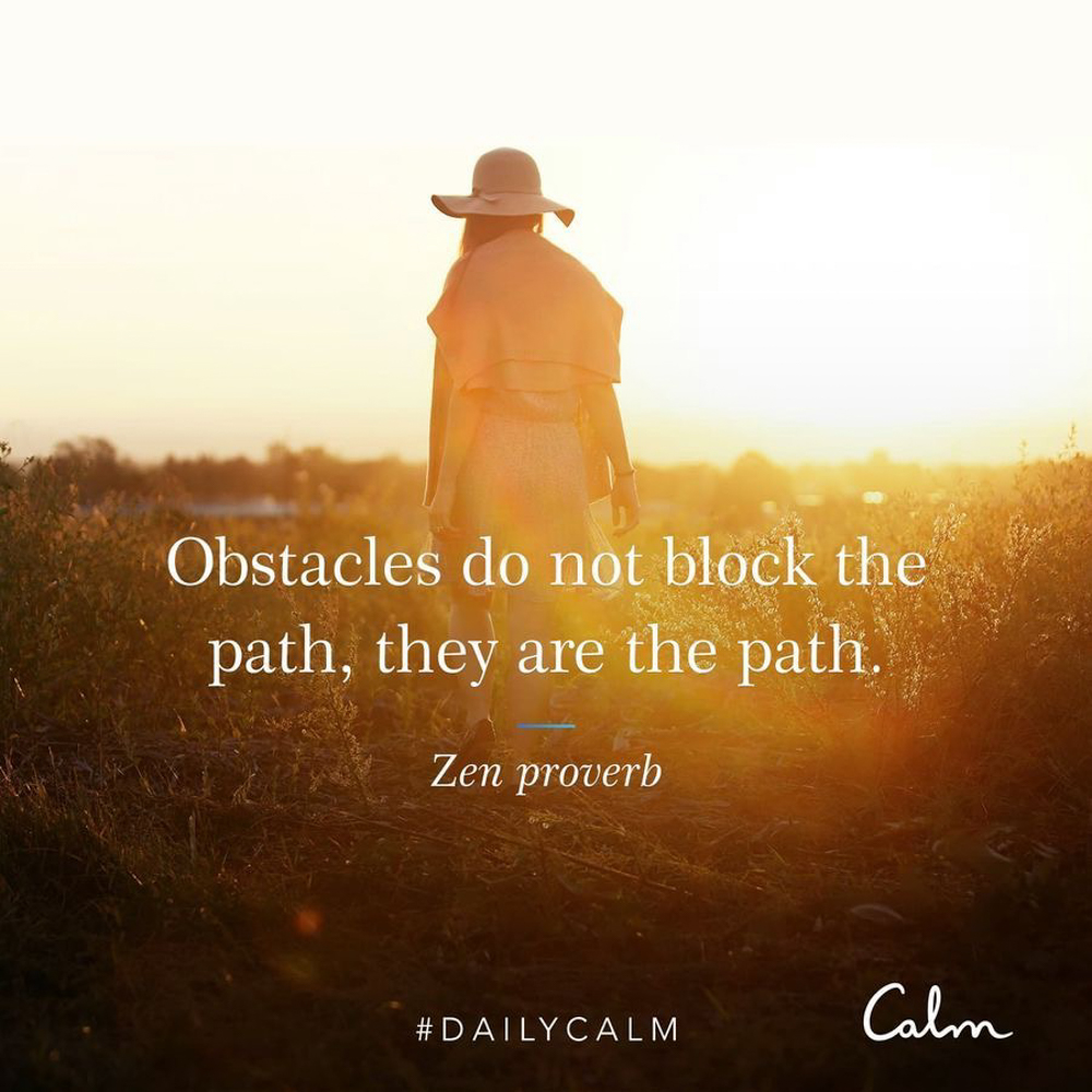 Obstacles quote by A Lady Goes West -- September 2019