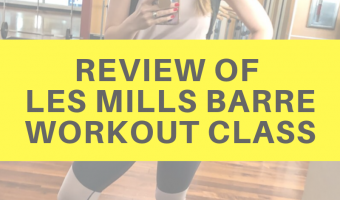 Review of Les Mills Barre workout class by A Lady Goes West