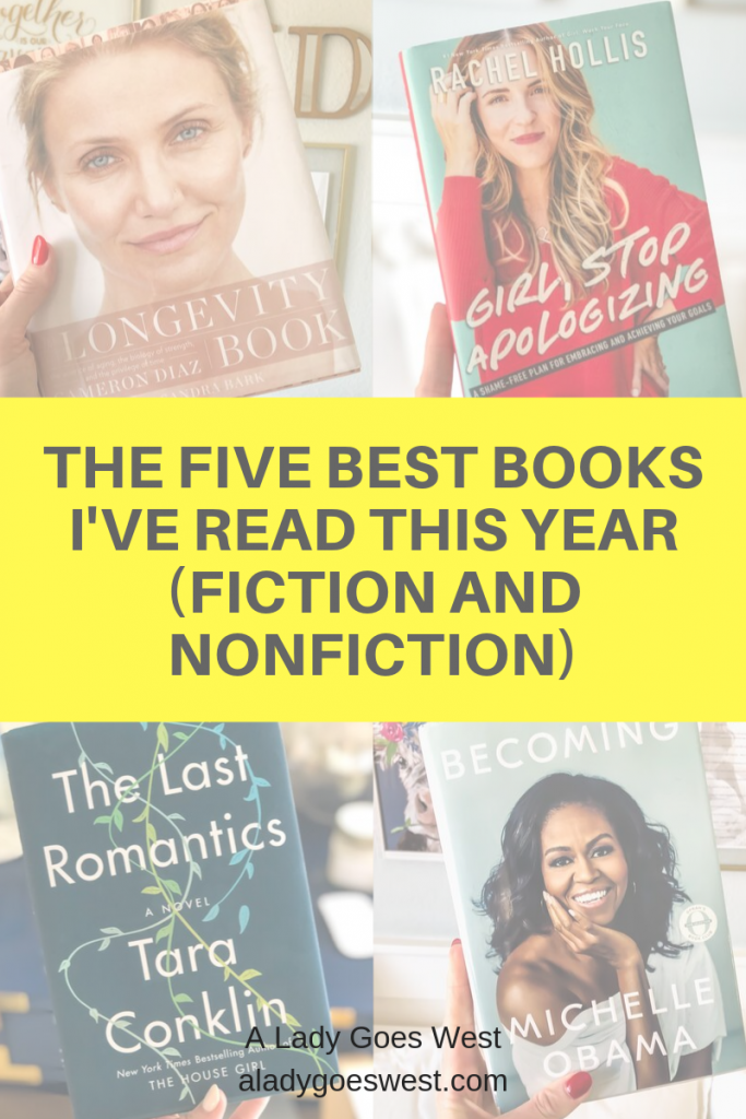 The five best books I've read this year (fiction and nonfiction) by A Lady Goes West