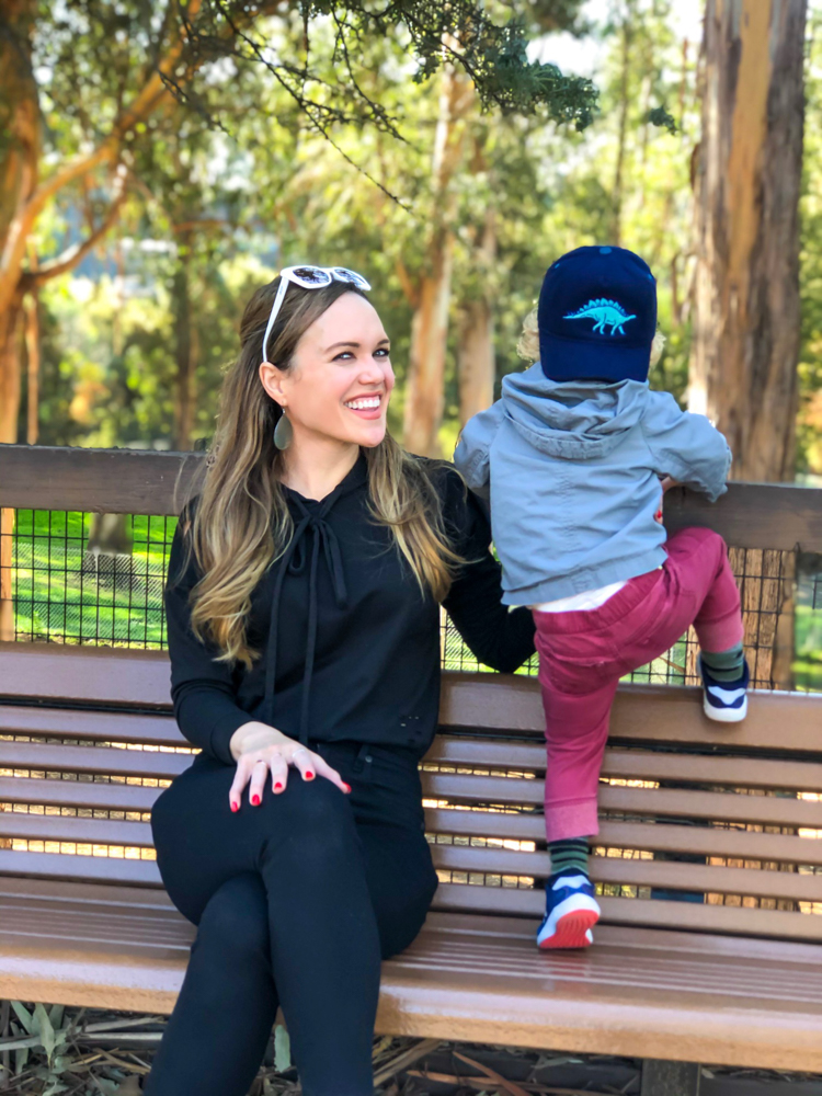 Brady and Ashley at Oakland Zoo by A Lady Goes West -- November 2019