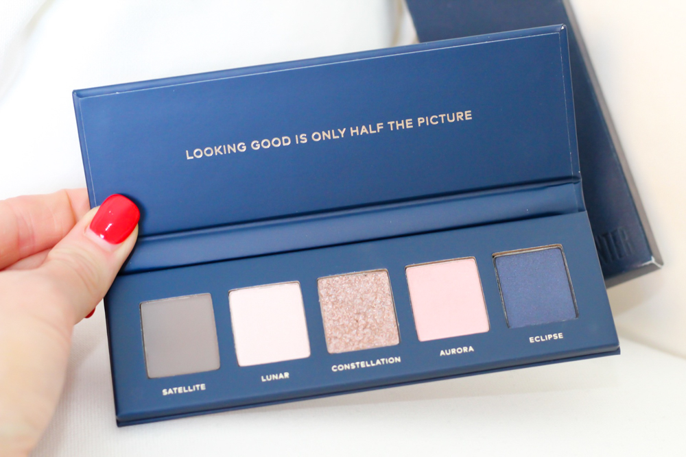 Eyeshadow palette Beautycounter holiday sets 2019 by A Lady Goes West -- November 2019