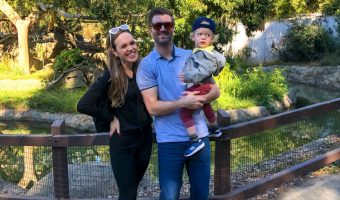 Family at Oakland Zoo by A Lady Goes West -- November 2019