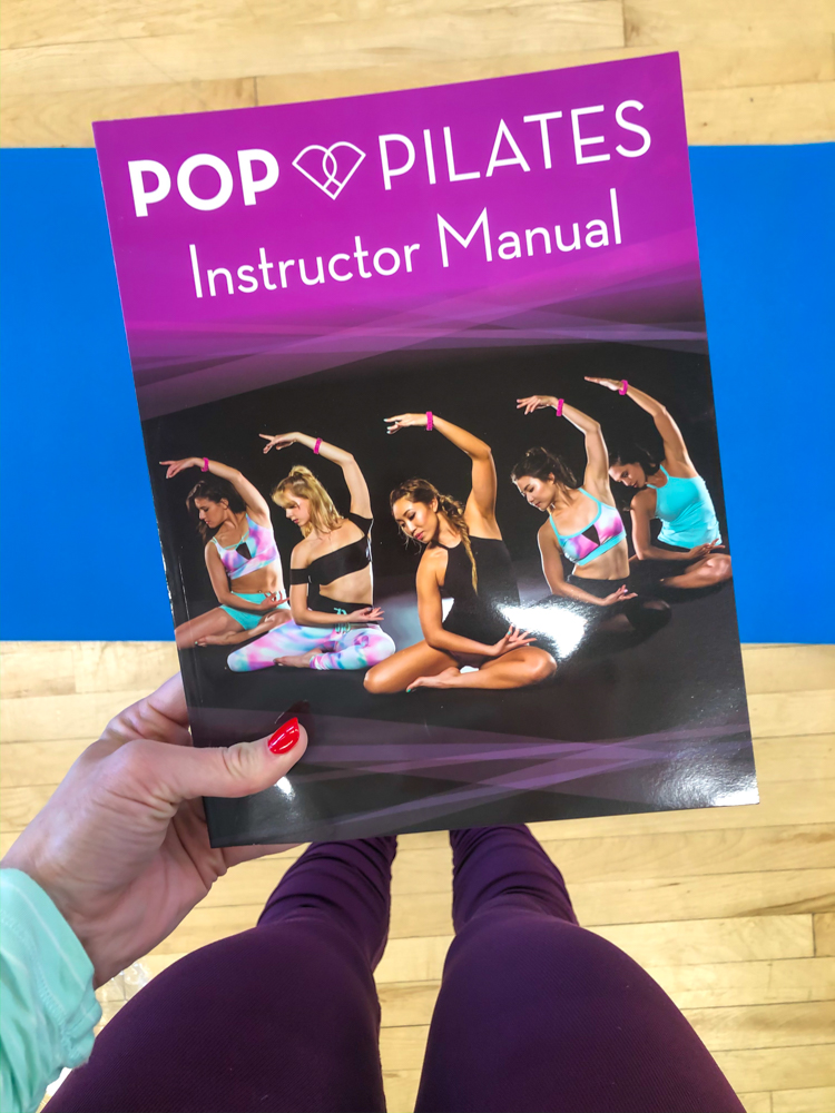 POP Pilates manual by A Lady Goes West -- November 2019