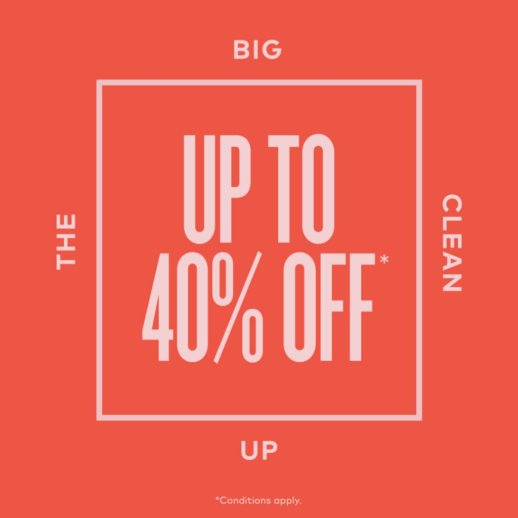 The Winter Clean Up Sale by Beautycounter