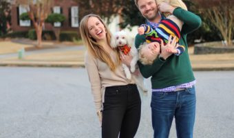 Family in Atlanta for Thanksgiving 2019 by A Lady Goes West -- November 2019