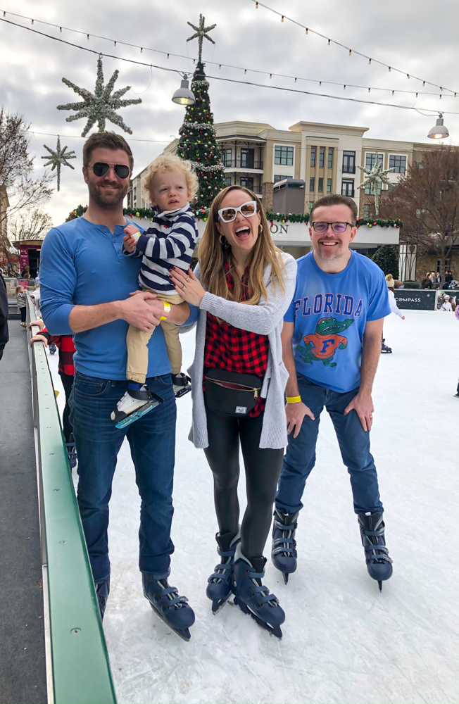 Ice skating in Atlanta for Thanksgiving 2019 by A Lady Goes West -- November 2019
