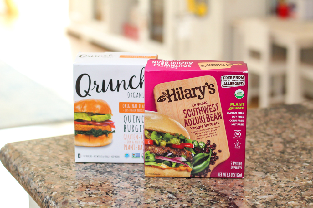 Qrunch burgers by A Lady Goes West -- December 2019