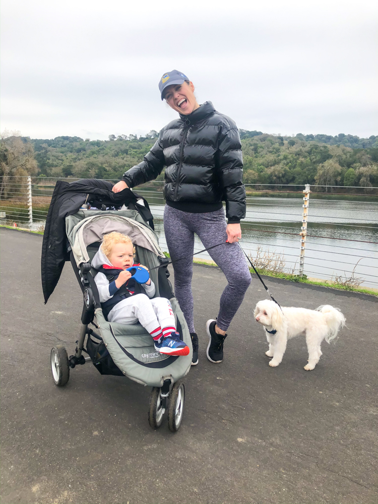 Ashley and Brady and Rudy at Lafayette Reservoir by A Lady Goes West - 2020