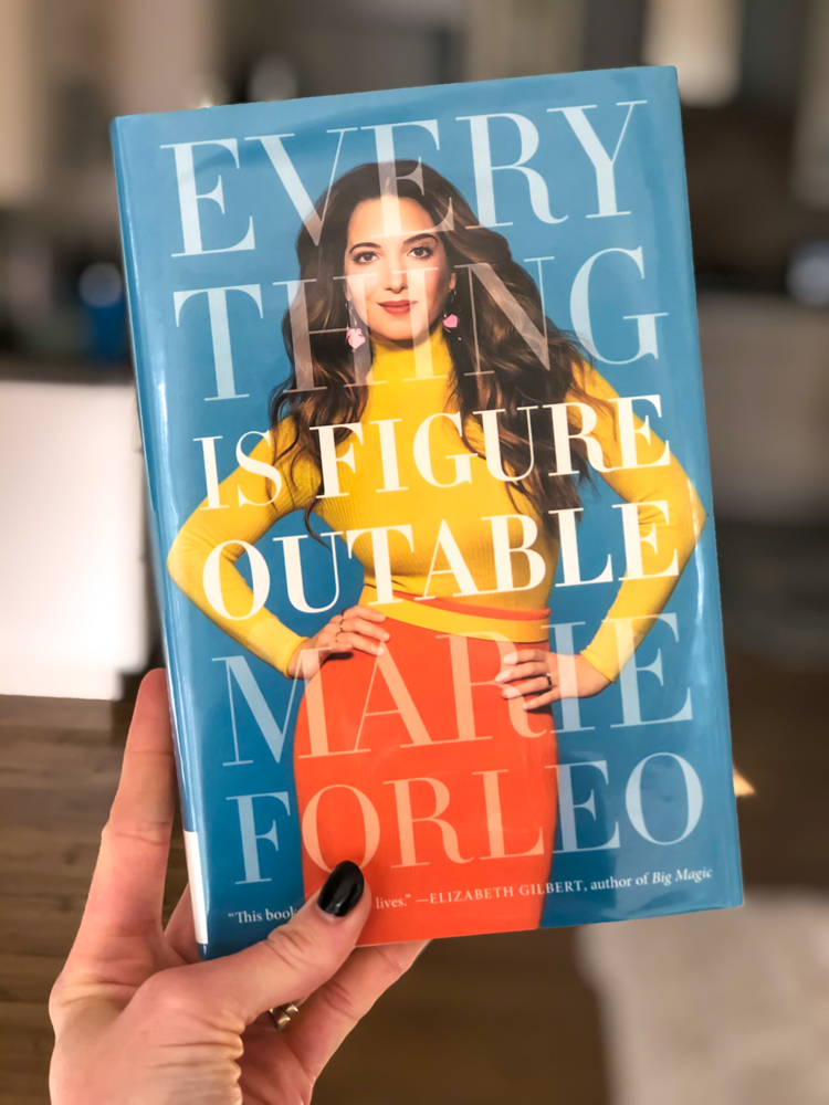 Everything is Figureoutable book review by A Lady Goes West - January 2020