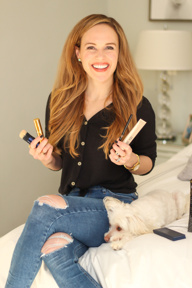 This is my mostly clean beauty makeup routine by A Lady Goes West - January 2020