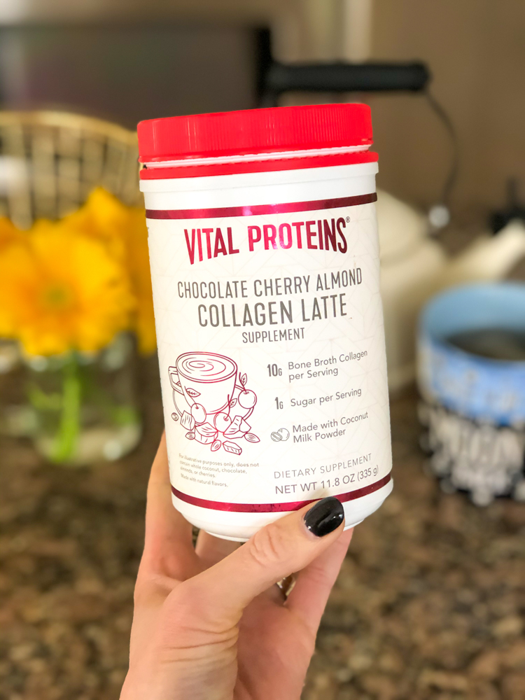 Vital Proteins new chocolate cherry latte by A Lady Goes West - 2020