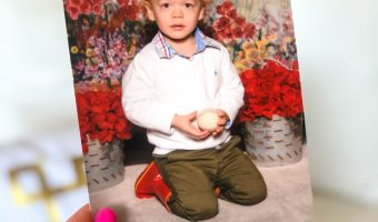 Brady school picture - by A Lady Goes West - February 2020